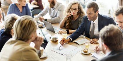 Formation gestion pour les nuls réunion de travail