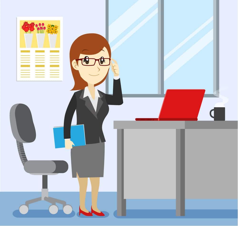 secrétaire professionnelle Ponctualité honnêteté fiabilité et performance