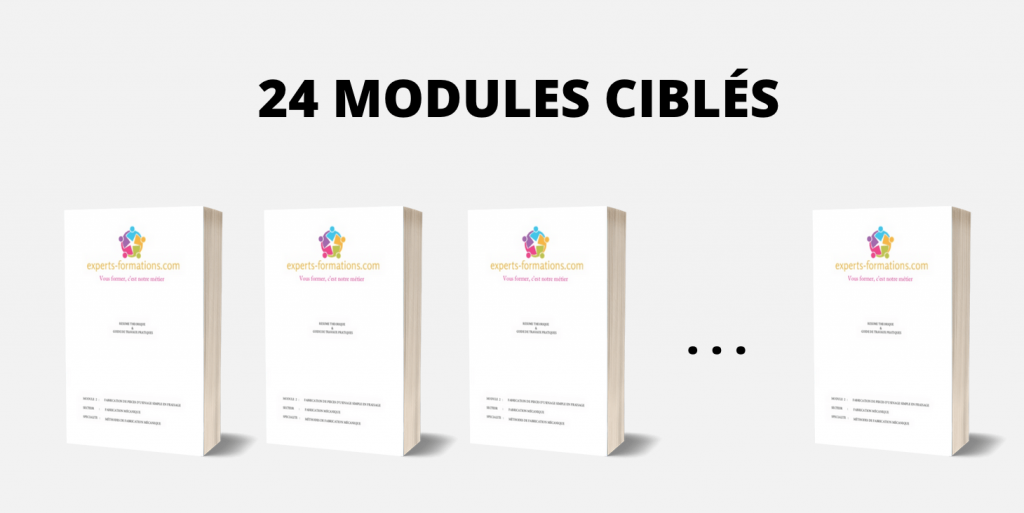 24 MODULES CIBLÉS